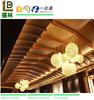WPC Plastic Building Materials PVC Ceiling Board Designs