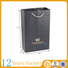 Black matte gift hot stamping paper bag