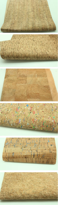 cork leather sample