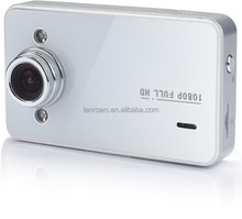 1080P full HD car camera k6000, seamless looping, motion detection, 2.7 lcd,140 degree view