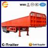 2014 new 3 axles cargo side wall panel semi trailer