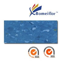 Anti-bacterial Bomeiflor Non-directional Homogeneous 2mm thickness pvc flooring