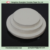 Unbleached Silicone Treated Round Parchment Paper Circles