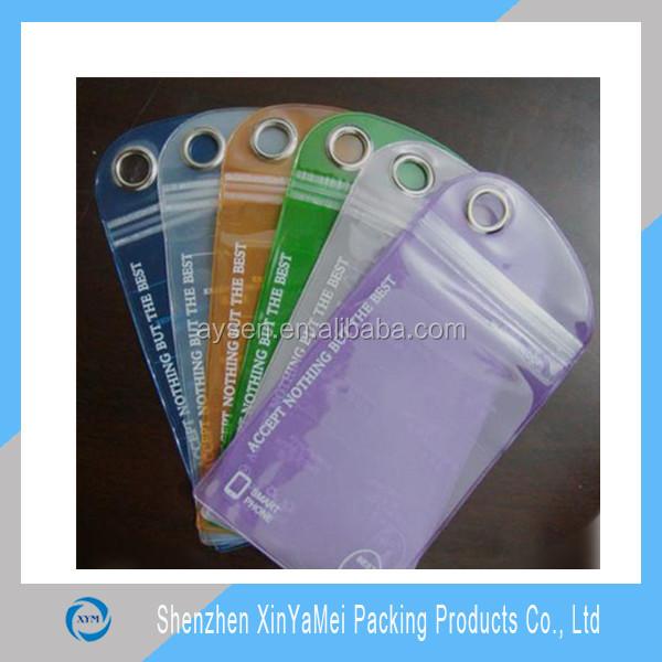 new design pvc waterproof zip lock bag