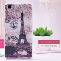 High quality PC back cover and metal bumper back case for oppo r7
