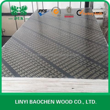 1220*2440mm black concrete formwork 18mm plywood marine