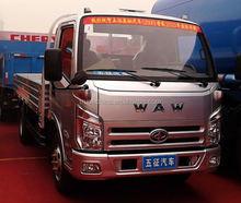 China WAW Brand Gasoline/Petrol 4x2 mini truck small cargo trucks for sale