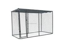 Dog kennel fence outside dog cage dog running fence
