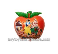 Custom Shape Apple Foil Helium Balloon
