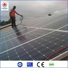 high power 12v 24v monocrystalline solar panel goods from china