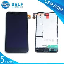 Low Price LCD Glass Screen Digitizer ,Lcd with Touch screen With Frame for Nokia Lumia 630