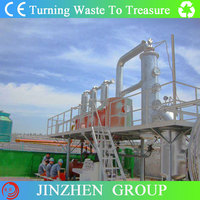 10tons capacity per day waste tire pyrolysis plant to get crude oil