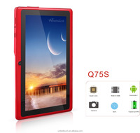 7 Inch Tablet With Plastic Case A33 Quad Core Android Smart Tablet Support Bluetooth Wifi