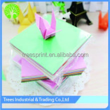 High quality origami paper folding for lucky birds and paper crane for school