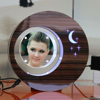 LED suspending in the air magnetic levitation photo frame excellent science gifts