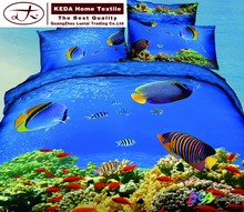 Home textile bed sheets from china 3d 5d reactive printing bed duvet cover for adult