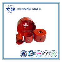 Drilling stainless steel M3 M42 metal cutting hole saw