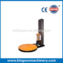 Pallet stretch wrapping machine, pallet wrapper