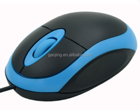 3D Best wired mouse ,Optical USB computer cheapest mouse