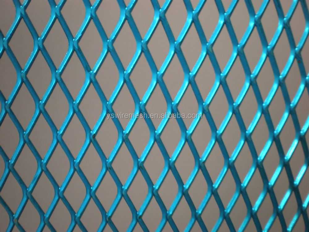 Coated Expanded Mesh For Car Grill Or Speaker Grille/wire Mesh For ...