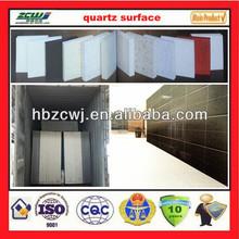 China Artificial Marble Stone Quartz Stone Man Made Quartz Slab