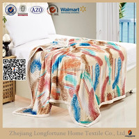 fleece bed sheets super soft coral fleece blanket NZW0120