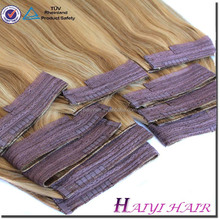 Hot selling top quality factory wholesale double drawn rhair extension fish