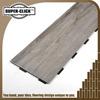 Fire-proof and fire retardant indoor interlocking pvc vinyl plank