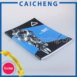 china high quality cmyk magazine/catalog printing services