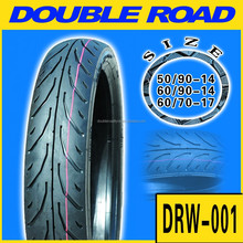 Supply High quality cheap china TL tires motorcycle 90 / 90 - 17 for Philippines market