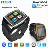 Full Functions Email Audio Play android phone watch for iPhone 4S 5 5S 6 Samsung Note2/3