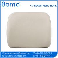 Contoured molds lumbar foam cushion/Car seat Travel Portable Memory Foam Lumbar Cushion