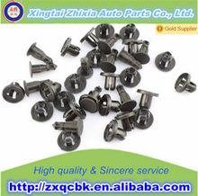 Brand Zhixia new style cars plastic clips fastener auto parts