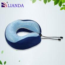 adult cooling neck pillows,airline pillow gel memory foam pillow,airplane pillow gel filled
