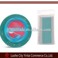 Professional water proof adhesive tape for tape weft 22 yards/roll blue color