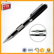 Metal detectable ballpoint pens,equipment for ball pen,double metal pen