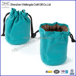 Factory Wholesale New Popular Fashion Handmade Leather Jewelry Bag