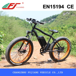 Fat tire 500W electric bicycle chopper for old people with EN15194