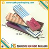 wholesale promotion cheap multi-function color paper cardboard pencil box
