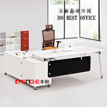 mesa de mobiliario de oficina ejecutiva de estilo europeo