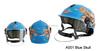 Blue Skull Cartoon On Road Helmet Motorcycle Helmet Half Face Helmet
