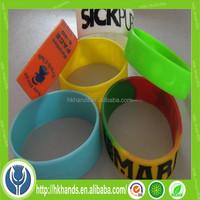 Best sale high quality custom bracelet 2015 with logo printed colorful anchor bracelet