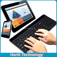 Tablet Bluetooth Keyboard With Trackpad Black Wireless Bluetooth Keyboard With Trackpad For Acer tablet PC