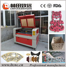 CO2 Non metal Laser Cutting Machine for Acrylic Leather Wood Plastic/die board laser cutting machine LT-1290