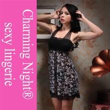 2015 nuevo estilo, venta al por mayor de la gasa de la ropa interior sensual de espalda abierta 3008 #
