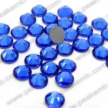 DMC Rhinestones Hot Fix SS10 Cobalt Full Colors Different Sizes