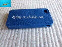 Silicone skin/case for Iphone 3G/Iphones with screw thread