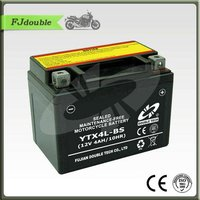 MOTORCYCLE PART Dry Charged SEALED MAINTENANCE FREE Motorcycle Battery YTX4L-BS(12V 4AH)