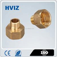 china manufacture brass male female nipple