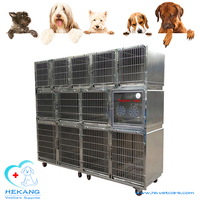 HK-C2400 cheap stainless steel dog kennel